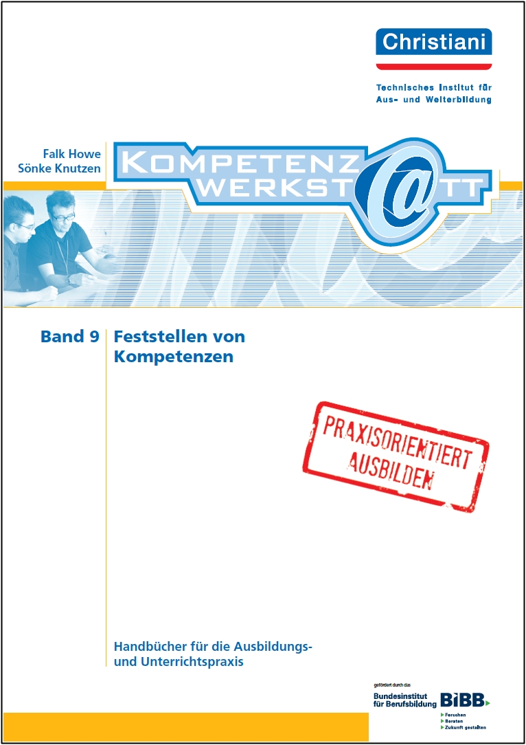 Bild von den Kompetenzwerstatt Handbüchern